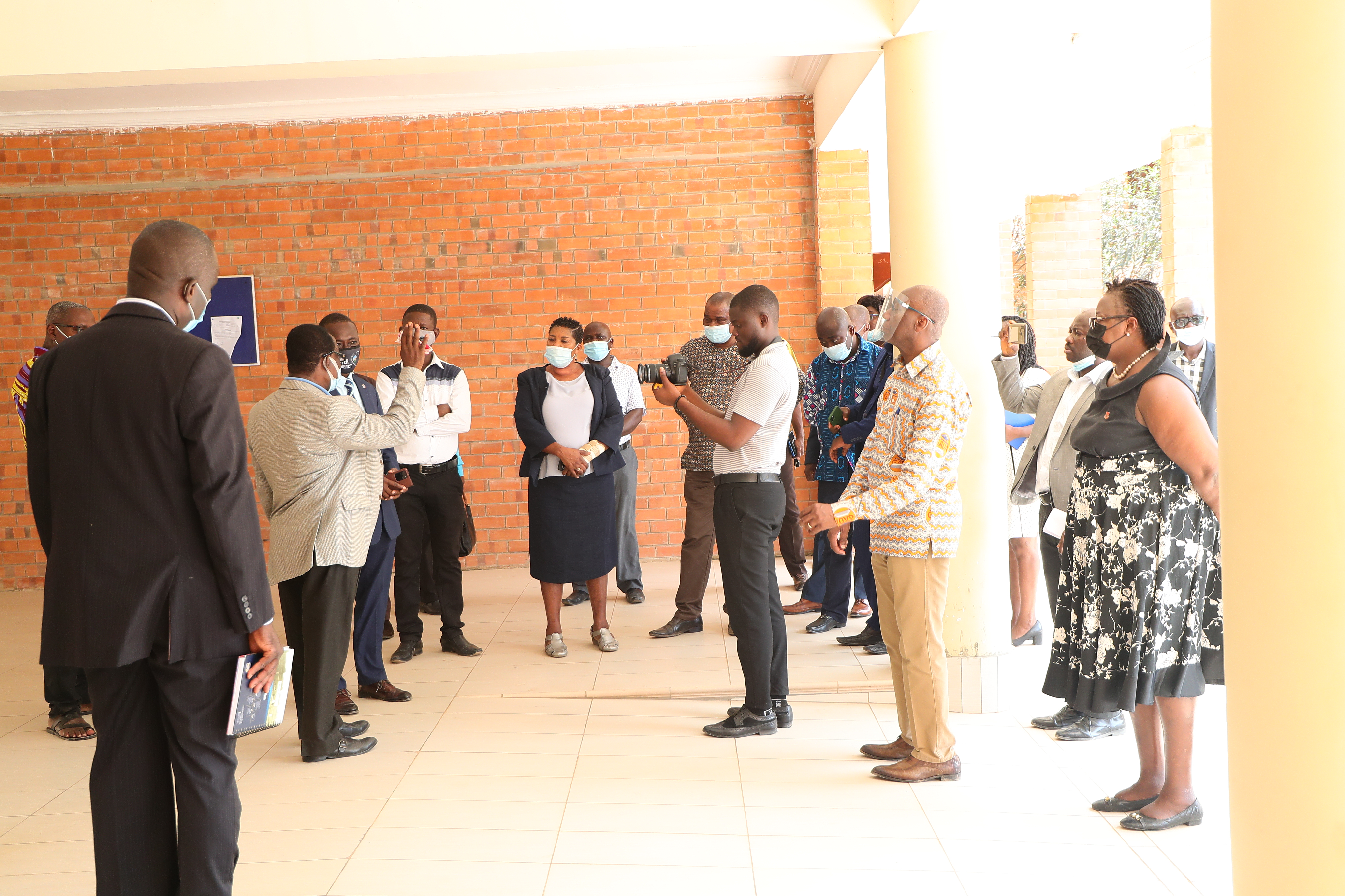UCC Management interacting with NSBT Rector