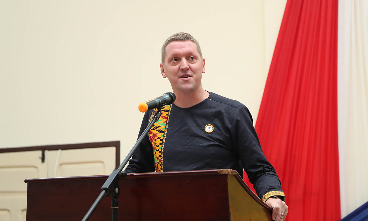 British High Commissioner to Ghana, H. E. Iain Walker