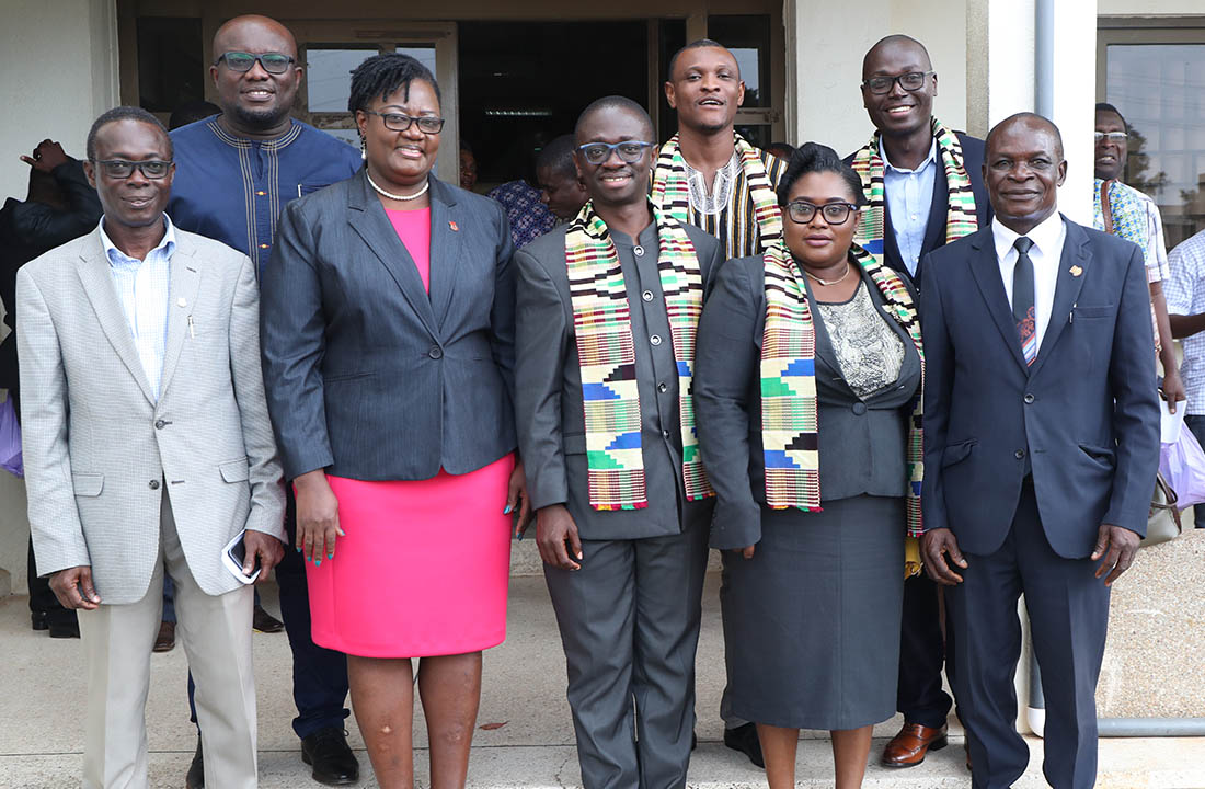 The UTAG executives with some members of Management