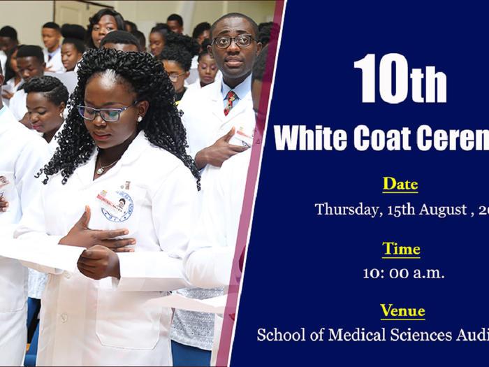 10th White Coat Ceremony