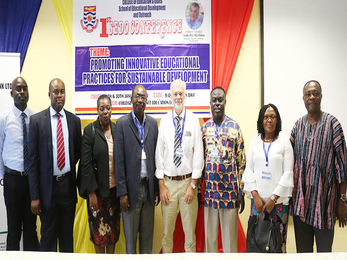 "SEDO holds first International Conference on the theme "" ""Promoting Innovative Educational Practices for Sustainable Development"""