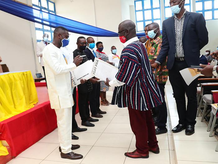 Handing over ceremony
