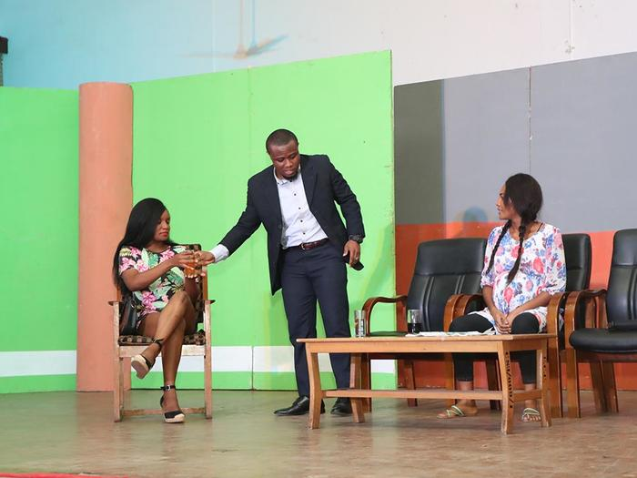 One of the scenes of the plays