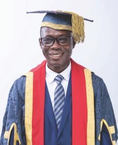 Pro. Johnson Nyarko Boampong-Vice-Chancellor